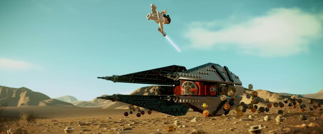 Lego Star Wars The Skywalker Saga Trailer Rebuilds All Three Trilogies Film