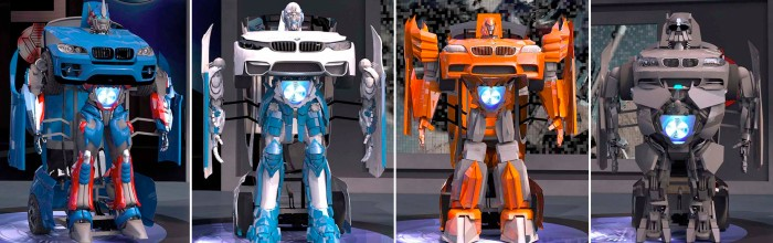 Letvision - Transformers