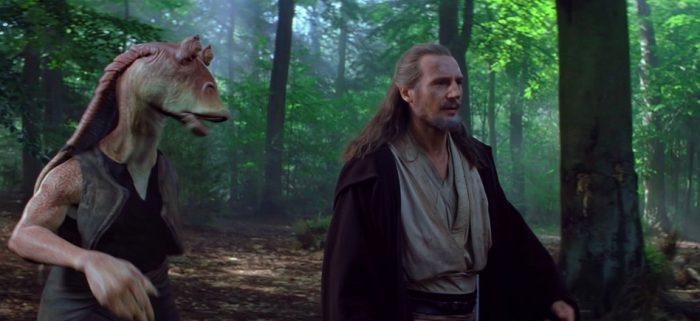 Liam Neeson sobre la amenaza fantasma