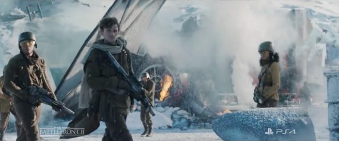 live-action star wars battlefront II trailer