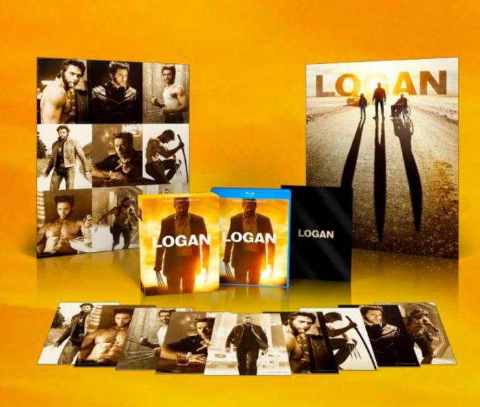 Logan Blu-Ray Set Walmart