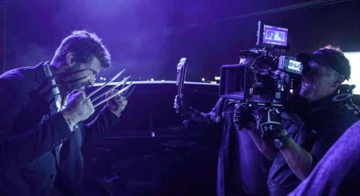 Logan - Wolverine - Set Photo
