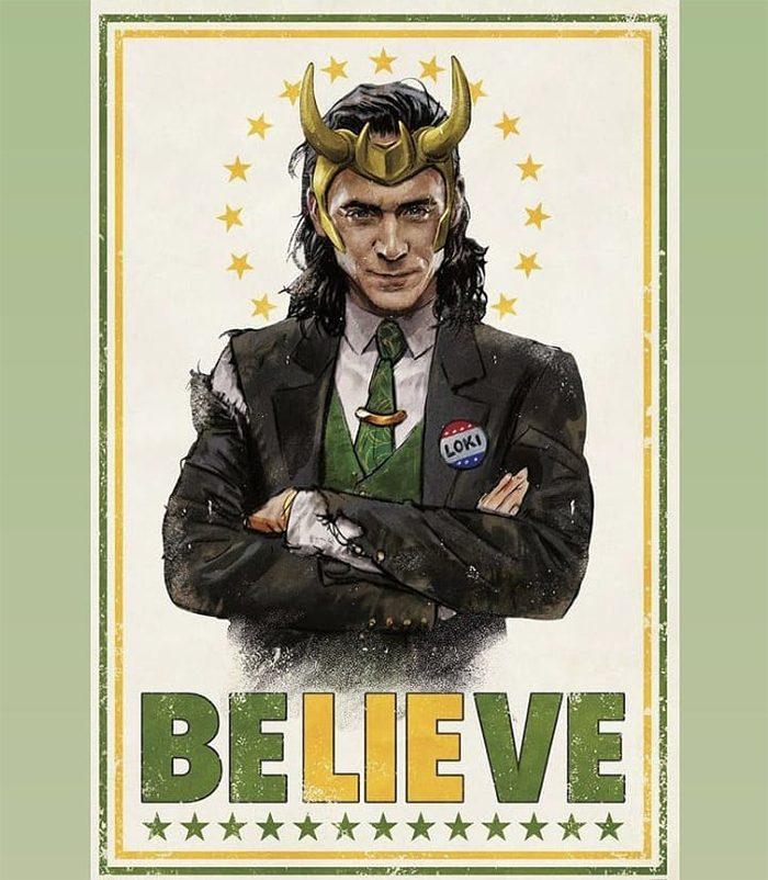 Loki - Propaganda Poster