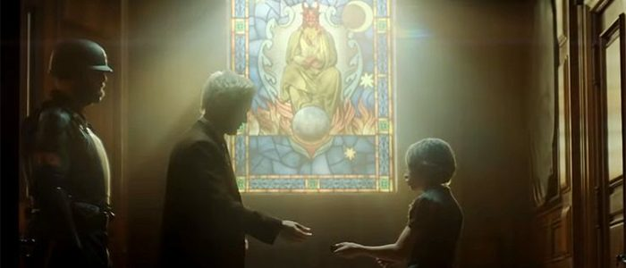 Loki Episode 1 - Stained Glass Window