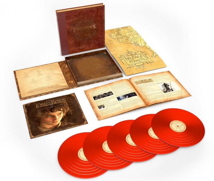 The Lord of the Rings: The Fellowship of The Ring Vinyl Soundtrack