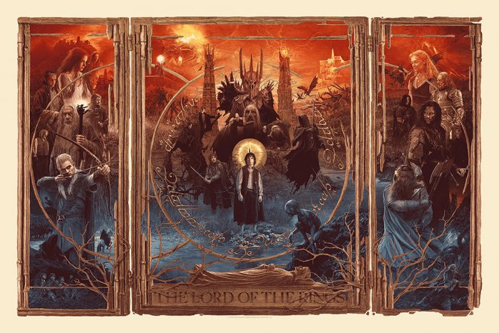 Gabz Lord of the Rings Trilogy Poster - Regular