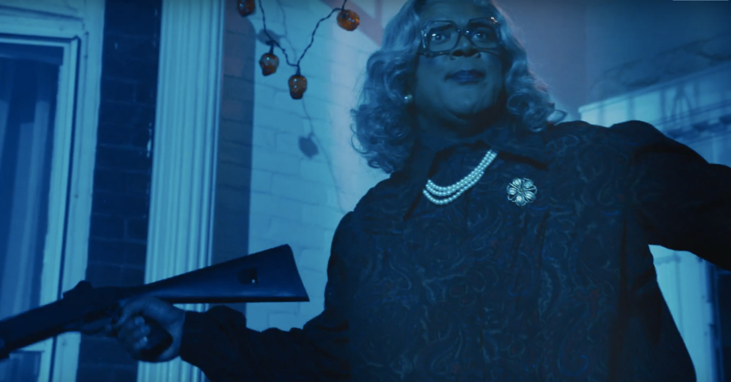 tyler perrys boo a madea halloween trailer is very real