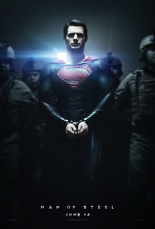 man of steel poster small