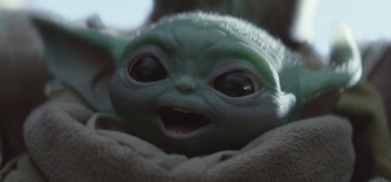 The Mandalorian Baby Yoda Plush and Statue