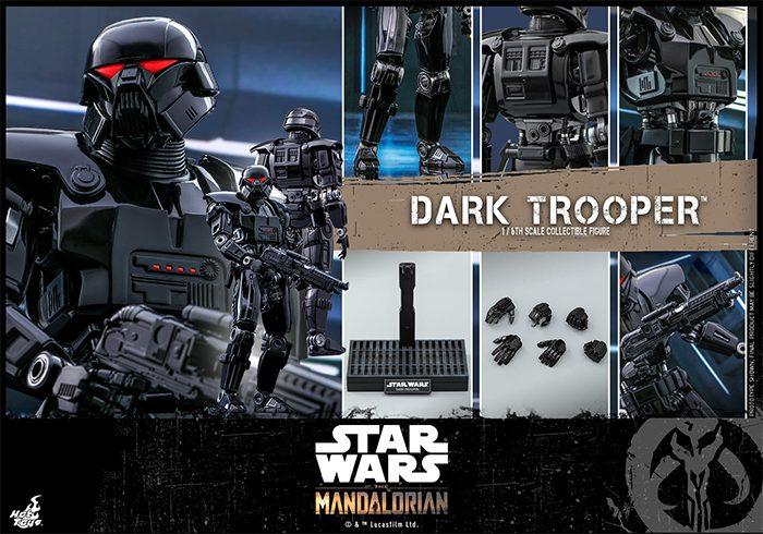 The Mandalorian Hot Toys Dark Trooper Figure