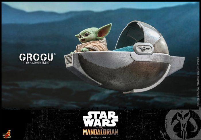 The Mandalorian - Grogu Hot Toys Figure