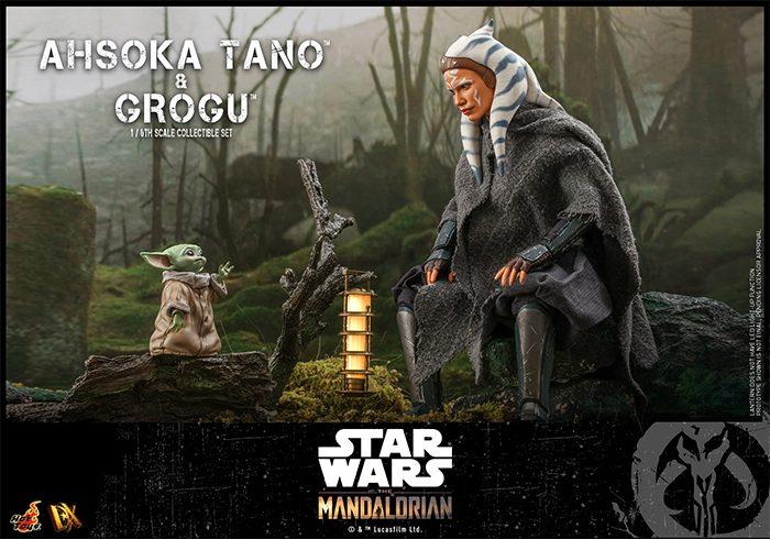 The Mandalorian - Hot Toys Ahsoka Tano Figure (with Grogu)