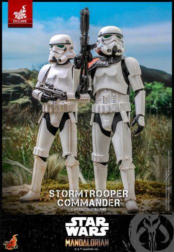 The Mandalorian - Stormtrooper Commander Hot Toys Figure