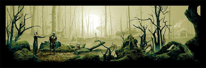 Mark Englert The Mandalorian Poster