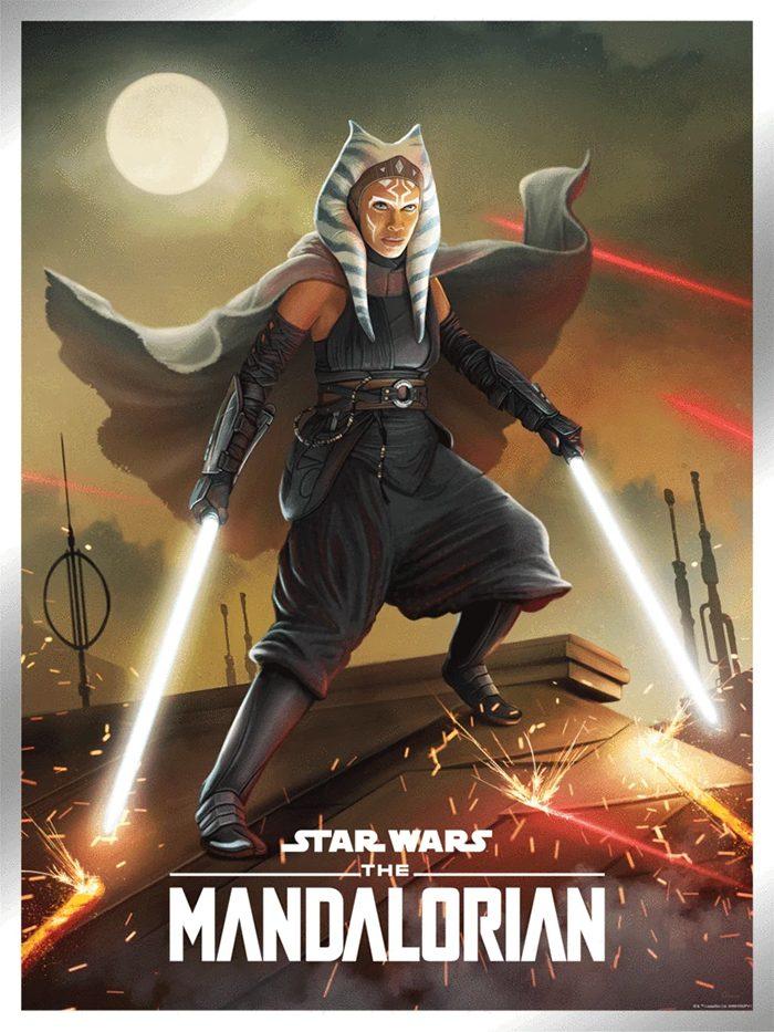 Star Wars Day 2021 Posters - Ahsoka Tano by Pablo Olivera