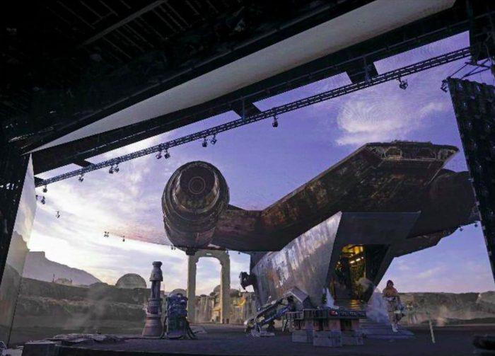 The Mandalorian Stagecraft Photos