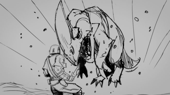 The Mandalorian - Storyboards