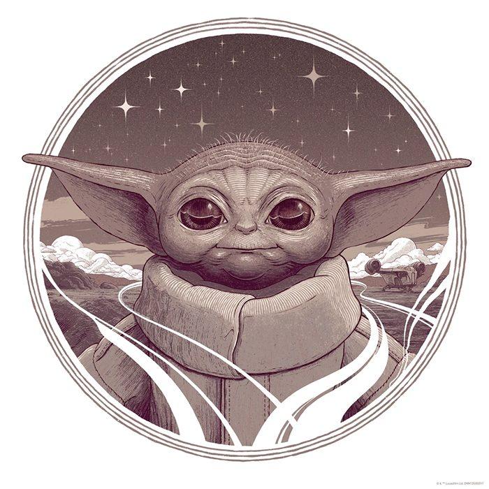 Star Wars Day 2021 Posters - The Child - Bartosz Kosowski