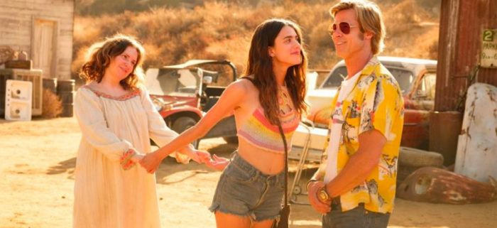 margaret qualley once upon a time in hollywood