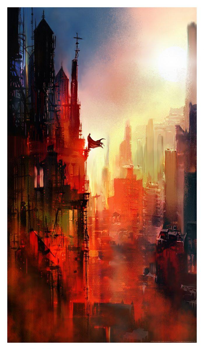 Mark Chilcott - Batman - Daybreak