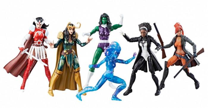 A-Force Heroines Marvel Legends Action Figure Pack