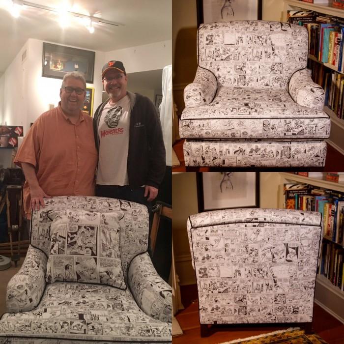 Steve Ditko Comics Chair