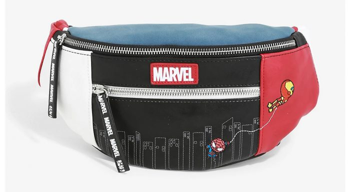 Marvel Spider-Man and Iron Man Fanny Pack