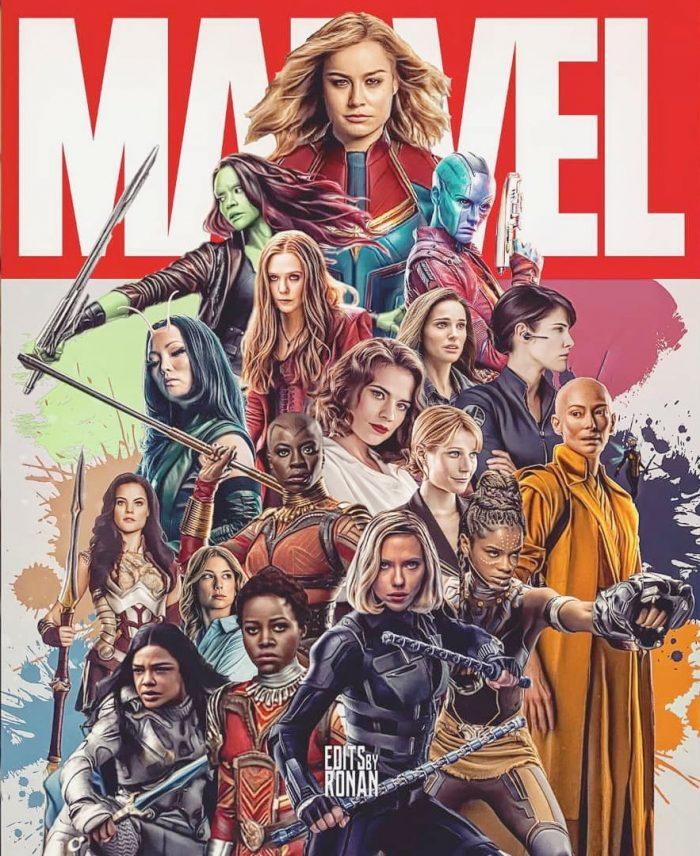 Female Marvel Cinematic Universe Superheroes