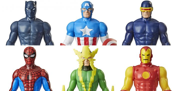 Hasbro Retro Marvel Action Figures