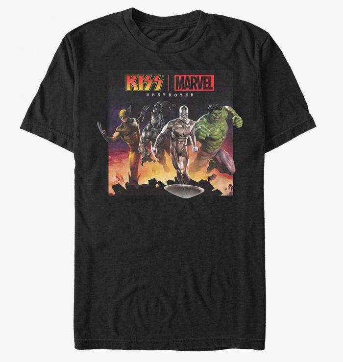 Marvel KISS Shirt