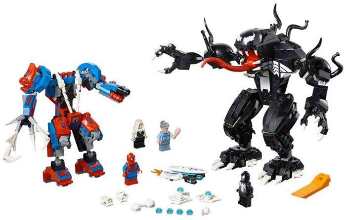LEGO Marvel Spider-Man Mech vs Venom