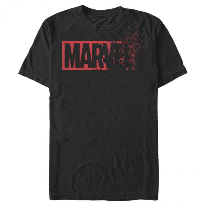 Marvel Dusted Logo Shirt