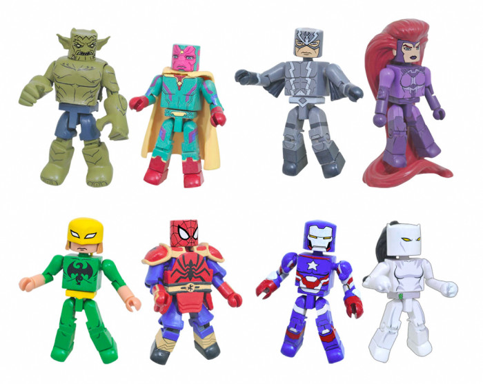 Marvel Minimates - Ultimate Spider-Man and Avengers Assemble