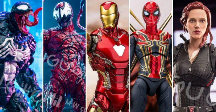MW Culture Marvel Action Figures