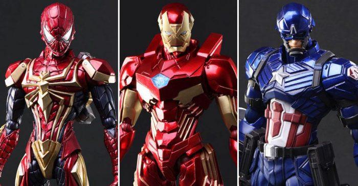 Marvel Play Arts Kai Figures