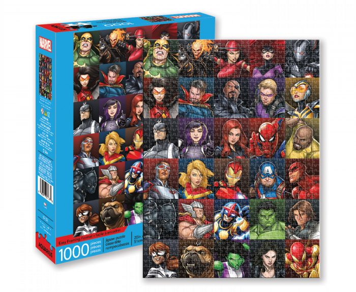 Marvel Puzzle Heroes