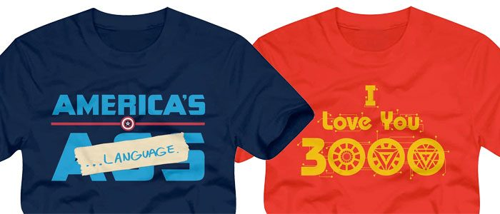 Marvel SDCC 2019 Comic-Con Shirts