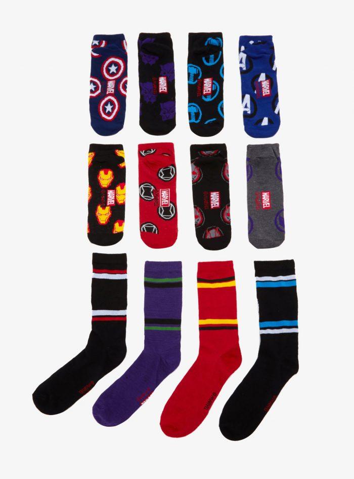 12 Days of Marvel Socks