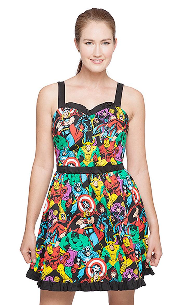 Marvel Sweetheart Dress