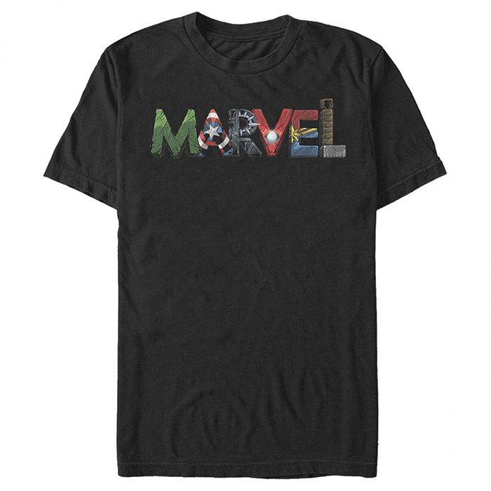 Marvel Text T-Shirt
