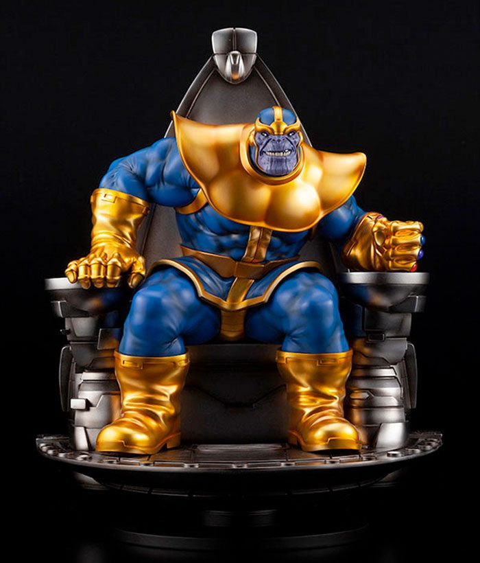 Thanos Statue with Space Throne