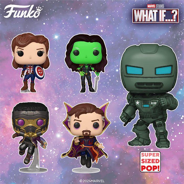 Marvel's What If Funko POPs
