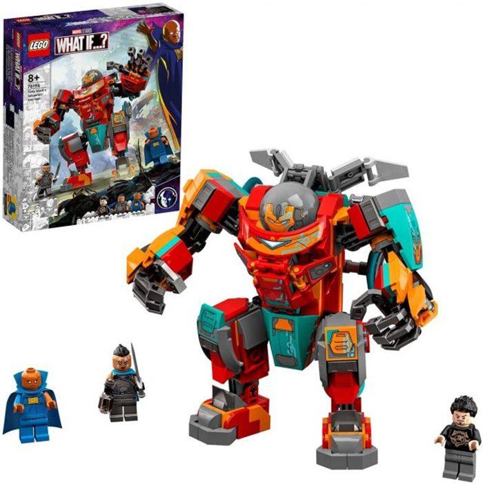 Marvel What If...? Iron Man LEGO Set