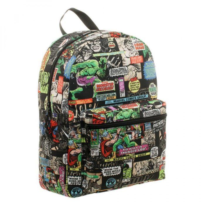 Marvel Comics Backpack Panel