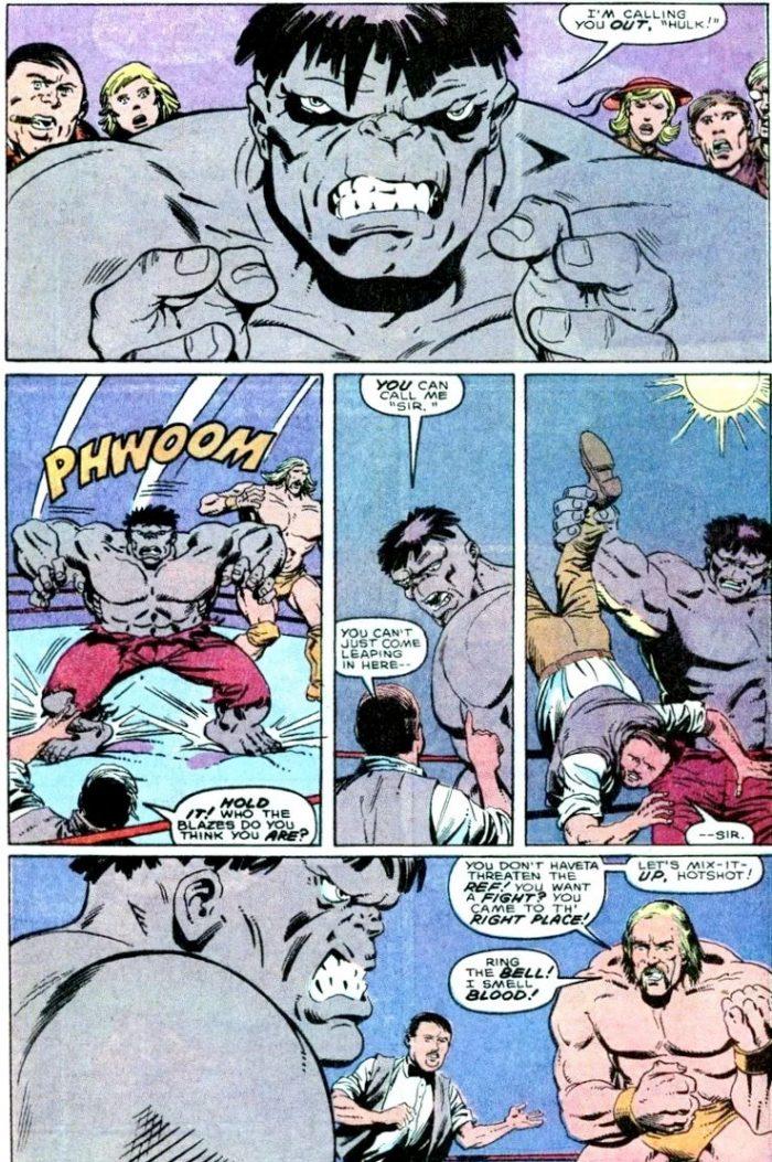 Hulk vs Hulk Hogan