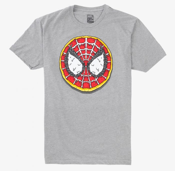 Marvel Eat the Universe - Spider-Man Pizza Shirt