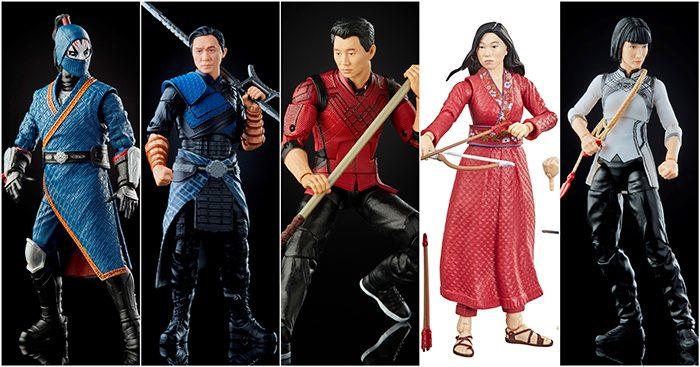 Marvel Legends Shang-Chi Figures