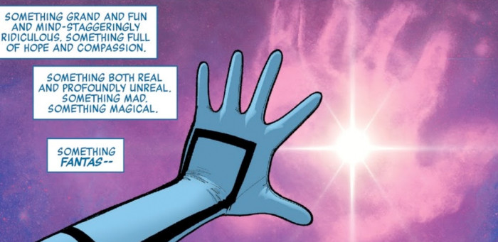 Marvel Legacy #1 - Fantastic Four Tease