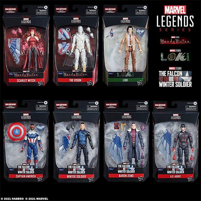 Marvel Legends - Disney+ Figures