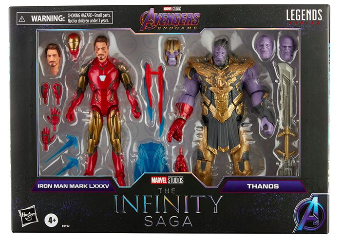 Marvel Legends - Iron Man and Thanos Two-Pack